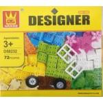 Wange 58232 Designer 72PCS
