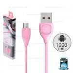 REMAX Cable Micro USB RC-050M LESU (Pink)