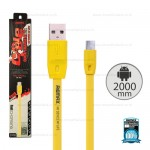 REMAX Cable Micro ( Yellow) 2M / Full Speed