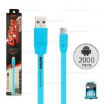 REMAX Cable Micro (Blue)2M/Full speed
