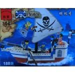 Enlighten 304 Pirates Series 188PCS