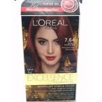 L'Oreal Paris Excellence Fashion Sparking Visible Color 7.64 Intense Copper Red