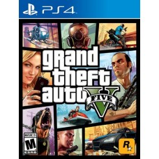 PS4: Grand Theft Auto V (GTA 5)[Z-all]