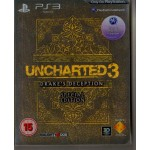 PS3: Uncharted 3 Special Edition กล่องเหล็ก