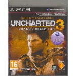 PS3: Uncharted 3 Game of the Year Edition (Z2)