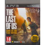 PS3: THE LAST OF US GAME OF THE YEAR EDITION (Z2)