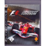 PS3: Formula One Championship Edition