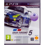 PS3: Gran turismo 5 The Real Driving Simulator Academy Edition