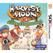 3DS: HARVEST MOON 3D: A NEW BEGINNING EN)
