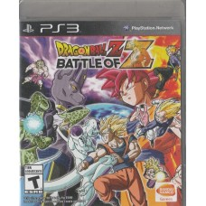 PS3: Dragon Ball Z: Battle of Z [Z1]