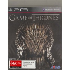 PS3: Game of Thrones (Z1)