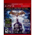 PS3: Batman Arkham Asylum Game of the Year