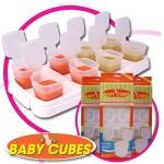 Baby Cubes เก็บอาหารเด็ก ขนาด 1 oz.