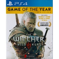 PS4: THE WITCHER 3 WILD HUNT GAME OF THE YEAR EDITION (Z3)(EN)