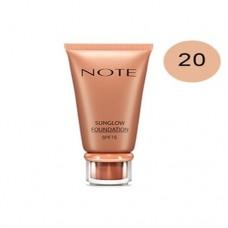 Note Sun Glow Foundation 20