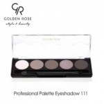Golden Rose PROFESSIONAL PALETTE EYESHADOW NO.111 Misty Matte