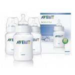 เอเวนท์ Avent ขวดนม BPA Free 9 oz. แพ็ค 3 ขวด สำหรับ 1 เดือนขึ้นไป