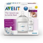 เอเวนท์ Avent ขวดนม รุ่นNatural 4 oz. สำหรับ 1 เดือน+ แพ็คคู่
