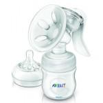 เอเวนท์ AVENT ปั้มนมแบบปั้มมือรุ่น Manual Natural Breast Pump-015741