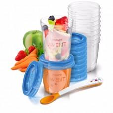 เอเวนท์ Avent ขวกเก็บอาหารและน้ำนม TODDLER FOOD STORAGE SET x 20 PCS
