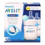 เอเวนท์ Avent ขวดนม รุ่นคลาสสิค ขนาด 4 oz. สำหรับ 0 เดือน+ แพ็คคู่