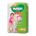 ฮักกี้ส์ Huggies Ultra Pants ไซส์ L เด็กผู้หญิง ห่อ 44 ชิ้น
