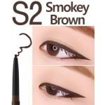 Eglips Slim Auto Long Eyeliner #S2 Smokey Brown