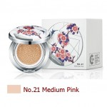 Sulwhasoo Perfecting Cushion Brightening SPF50+PA+++ Limited Edition No.21 Medium Pink