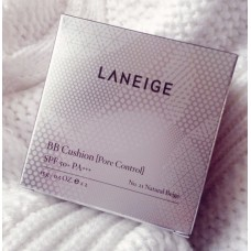 Laneige BB Cushion Pore Control No.21 Natural Beige (refill) with box
