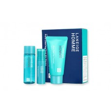 Laneige Homme Pore Clearing Trial Kit 3 Items (For men)