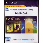 PS3: Artistic Pack[ICO AND SHADOW OF THE COLOSSUS COLLECTION&JOURNEY COLLECTOR'S EDITION (CHI+ENG)]