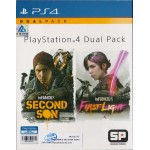 PS4: Dual Pack  inFAMOUS Second Son / inFAMOUS First Light (Z3)(EN)