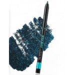 Touch In Sol Style black gel liner with Diamond #4 Aquamarine (Black+Emerald)
