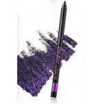Touch In Sol Style black gel liner with Diamond #6 Purple Amethyst (Black+Purple)
