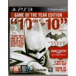 PS3: Batman Arkham City Game of the Year Edition