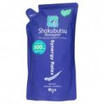 โชกุบุสซึ โมโนกาตาริ Shokubutsu monoggatari ครีมอาบน้ำ  ฟอร์ เมน ซินเนอร์จี รีแร็กซ์ ชนิดถุงเติม 500 ml