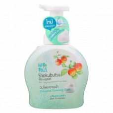 วิปโฟมอาบน้ำโชกุบุสึ Shokubutsu  โมโมลีฟ สกิน โปรเทคชั่น 450 ml