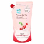 โชกุบุสซึ โมโนกาตาริ Shokubutsu monoggatari ครีมอาบน้ำ กลิ่นเชอร์รี่ฮอกไกโด ชนิดถุงเติม 500 ml