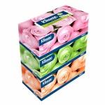 คลีเน็กซ์ Kleenex ฟลอรัล คละสี 150 แผ่น แพ็ค 3