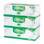 คลีเน็กซ์ Kleenex อโล แอนด์ อี 80 แผ่น แพ็ค 3