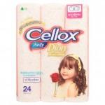 เซลล็อกซ์ พิวริฟาย Cellox purify ดิออน พริ้นท์ 24ม้วน (มีกลิ่น)