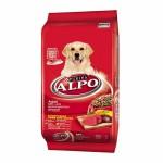 ALPO ชนิดเม็ด สำหรับสุนัขโตทุกสายพันธุ์ รสเนื้อวัว ตับ และผัก 10 kg