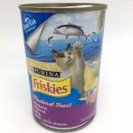 Friskies ชนิดเปียก สำหรับแมวโต รสปลาทู 400 กรัม