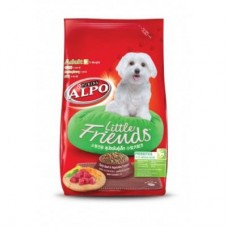 ALPO ชนิดเม็ด สำหรับสุนัขโตสายพันธุ์พันธุ์เล็ก รสเนื้อและผัก สูตรพรีไบโอติก 450 กรัม