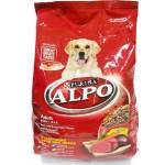 ALPO ชนิดเม็ด สำหรับสุนัขโตทุกสายพันธุ์ รสเนื้อวัว ตับ และผัก 500 กรัม