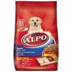 ALPO ชนิดเม็ด สำหรับสุนัขโตทุกสายพันธุ์ รสไก่ ตับและผัก 1.5 kg