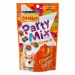 Friskies Party Mix ขนมแมว สูตรคลาคสิค รสปลาทูน่า ไก่ และปลาโบนิโตะ 60 กรัม