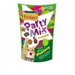 Friskies Party Mix ขนมแมว สูตรปิคนิค รสไก่ ไก่งวง และชีส 60 กรัม