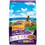 Friskies Surfin' & Turfin' Favourites ชนิดเม็ด สำหรับแมวโต รสปลาทูน่าและปลาซาร์ดีน 450 กรัม