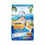 Friskies Seafood Sensations ชนิดเม็ด สำหรับแมวโต รสปลาทะเล 450 กรัม